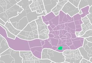 Pendrecht - Map of Pendrecht in Rotterdam
