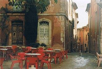 Roussillon, Vaucluse - Image: Roussillon 1993