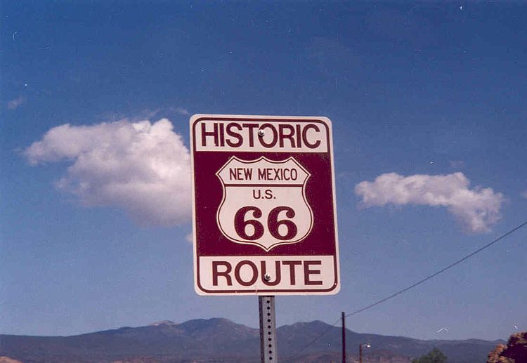 section of Route 66