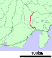Route Map of Minobu Line.svg