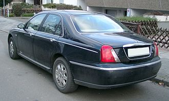 Rover 75 - Rover 75, rear view