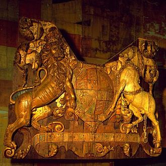 HMS Royal Charles (1655) - The stern piece preserved at Amsterdam