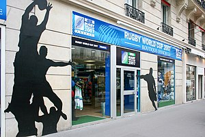2007 Rugby World Cup - The official Rugby World Cup shop in Paris