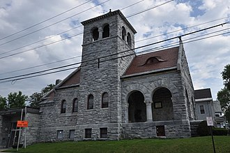 National Register of Historic Places listings in Rutland County, Vermont - Image: Rutland VT Jewish Community Center