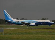 """המטוס בשירות חברת """"ריינאייר"""""""
