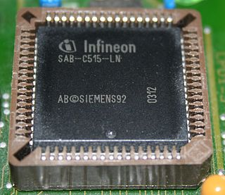 XC800 family 8-bit microcontroller family by Infineon