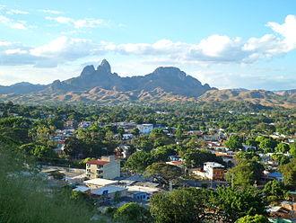 San Juan de los Morros - View of San Juan de los Morros.