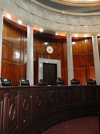 Supreme Court of the Philippines - The Session Hall of the Supreme Court.