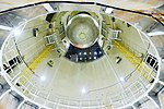 SLS Liquid hydrogen tank bottom in CELL E.jpg