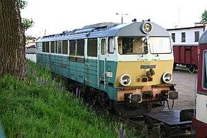 PKP class SP47 - SP47 locomotive in Skansen Parowozownia Kościerzyna