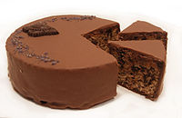 Sachertorte from Demel bakery, December 2010.jpg