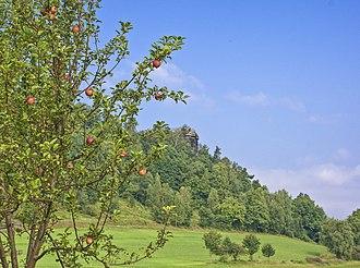 Kaiserkrone (hill) - Image: Sachsen 2012 027