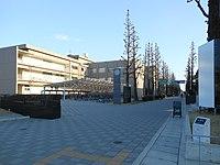 Saga University Honjō Campus front gate.JPG