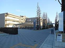 Saga University Honjō Campus front gate.JPG