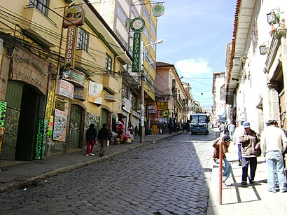 How to get to Calle Sagarnaga with public transit - About the place