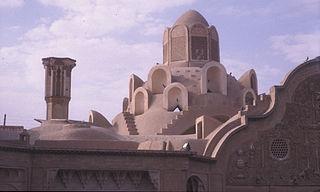 Kashan City in Isfahan, Iran