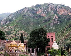 The village is located in the verdant Margalla Hills, just outside Islamabad.