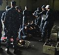 Sailors participate in a mass casualty drill (8536339373).jpg