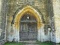 Saint-Geniès chapelle Cheylat portail.JPG