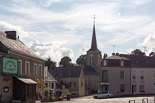 Blandouet-Saint Jean Commune in Pays de la Loire, France