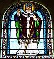 Saint-Martial-de-Nabirat église chapelle NW vitrail (1).JPG