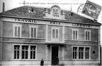Saint-Victor-de-Cessieu, école des filles inauguré le 15 octobre 1905, 1907, p231 de L'Isère les 533 communes.jpg