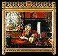 Saint Jerome in his study. Oil painting by a follower of Joo Wellcome V0017365.jpg