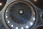 Saint Peter's Basilica Dome Interior.JPG