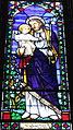 Saint Peter Church (Upper Sandusky, Ohio) - stained glass, Saint Joseph.jpg