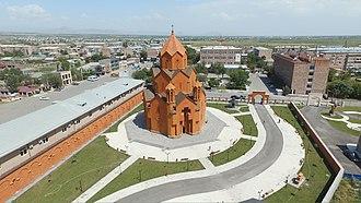 Masis, Armenia - Image: Saint Tadeos 9