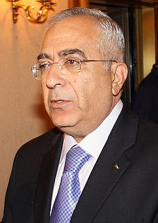 Salam Fayyad Palestinian politician
