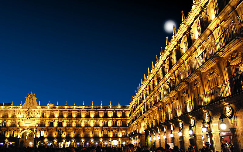 File:Salamanca Plaza Mayor por la tarde.jpg