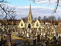 Sale Brooklands Cemetery - geograph.org.uk - 1749750.jpg