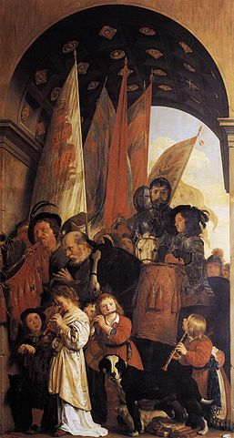 Salomon de Bray - Triumphal Procession with Musicians - WGA03143