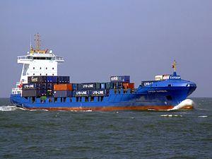 Samskip Express p1 approaching Port of Rotterdam 19-Apr-2007.jpg