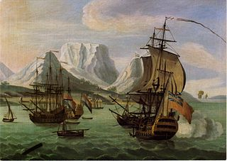 Table Bay, c. 1730.