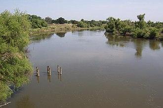 San Joaquin River - San Joaquin River near Vernalis