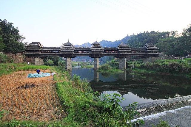 Jembatan Chengyang, Sanjiang, Cina