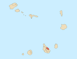 Location of Santa Cruz