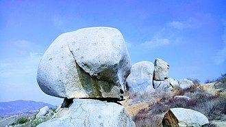 Santee Boulders - Image: Santee Boulders, Lightbulb