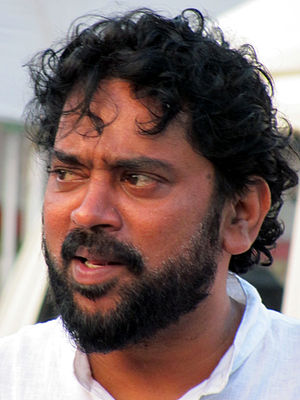 Santosh Sivan - Santosh Sivan at his studio (2011)