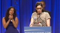 File:Sarah Silverman Introduces Bernie Sanders in L.A..webm