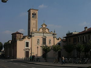 Saronno - The Church of St. Francis.