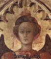 Sassetta, madonna col Bambino e quattro santi, dettaglio 02.jpg