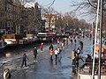 Schaatsen op de Prinsengracht in Amsterdam foto12.jpg