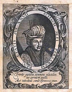 Safi of Persia Shah of Persia