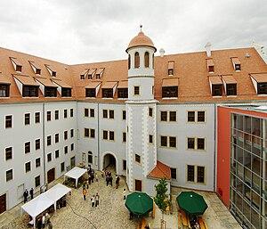 Osterstein Castle (Zwickau) - Image: Schloss Osterstein