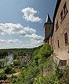 Schloss Rochlitz - Südfassade und Turm Lichte Jupe (01-2).jpg