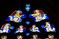 Schlosskirche Schleiden, Maßwerkfenster, musizierende Engel.jpg