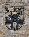 Schweigen Deutsches Weintor Wappen des Landkreises Bergzabern.jpg